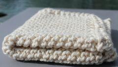 Ecru Cotton Dischcloth