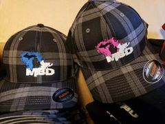 MBD Plaid Fitted Hat