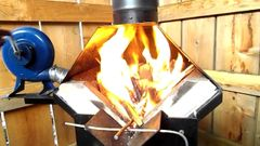 Whitlox Mini Blacksmith Forge Hood