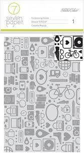 Studio Calico Seven Paper Embossing Folder