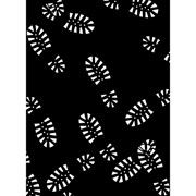 "Boot Tracks Pattern Embossing Folder (4.25""x5.75"") by Darice"