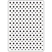 "Dot Background Embossing Folder (4.25""x5.75"") by Darice"