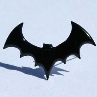 Black Bat Brads (Halloween) by Eyelet Outlet
