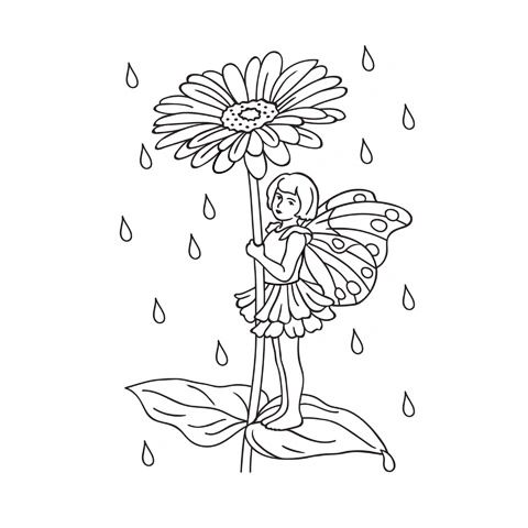 Darice Embossing Folder - Flower Fairy - 4.25 x 5.75 inches