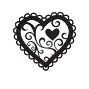 "Valentine Heart, Embossing Folder (4.25""x5.75"") by Darice"