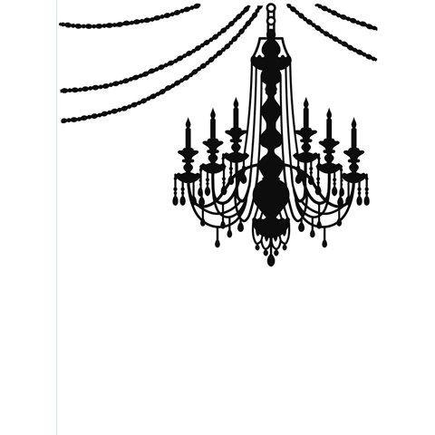 "Chandelier (4.25""x5.75"") embossing folder by Darice (Halloween) by Darice"