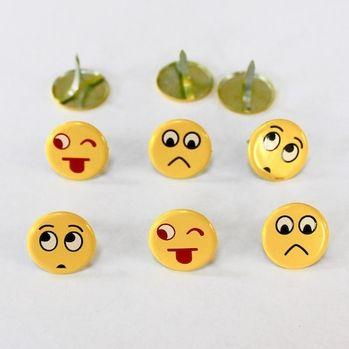 Emotion Brads (Large Emoji) by Eyelet Outlet