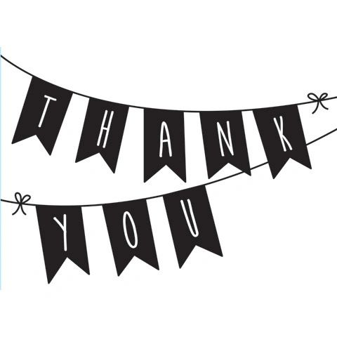"""Thank You Pennant Embossing Folder (4.24""""x5.75"""") by Darice"""