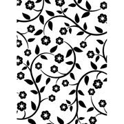 """Flowers and Vines Embossing Folder (4.25""""x5.75"""") by Darice"""