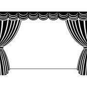 """Stage with Curtains Embossing Folder (4.25""""x5.75"""") by Darice"""
