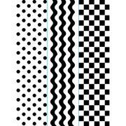 """Simple Pattern Trio (4.25""""x5.75"""") embossing folder by Darice"""