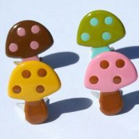 Mushroom brads by Eyelet Outlet
