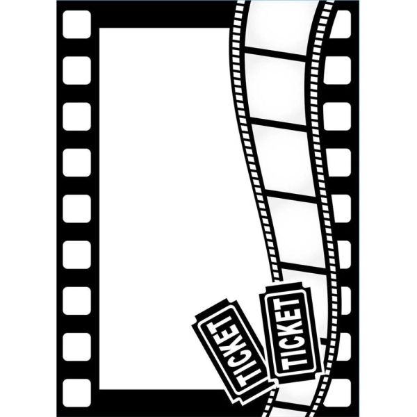 "Movie Theme Embossing Folder (4.25""x5.75"") by Darice"