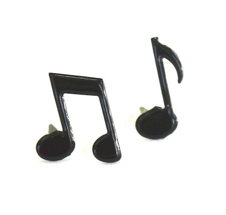 Music Note brads by Eyelet Outlet