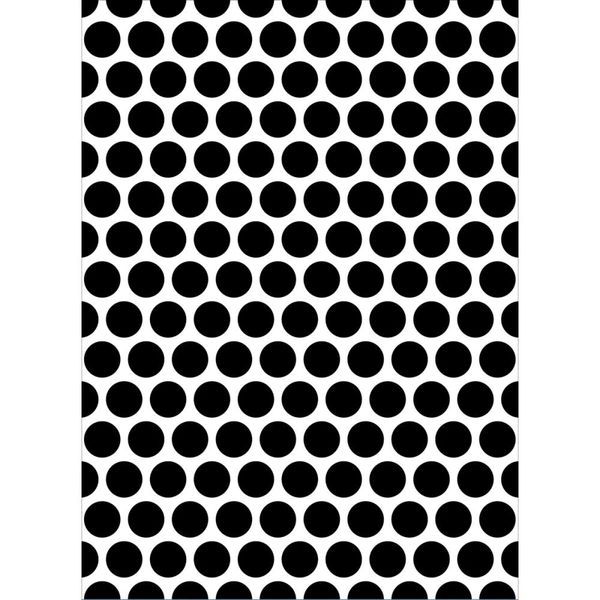 """Large Dots Embossing Folder (4.25""""x5.75"""") by Darice"""