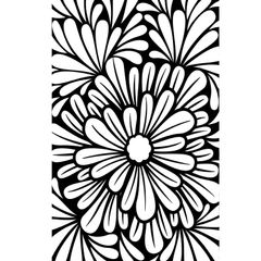 "Bold Floral Embossing Folder (4.25""x5.75"") by Darice"