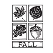 Fall Square Collage - 4.25 x 5.75 inches