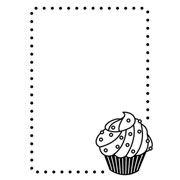 "Cupcake Embossing Folder (4.25""x5.75"") by Darice"