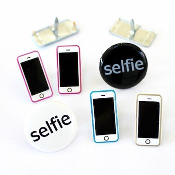 Selfie Brads Cell Phone by Eyelet Outlet