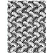 "Basket Weave Embossing Folder (5"" x 7"") by Darice"