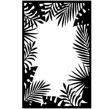 "Jungle Border (4.25""x5.75"") embossing folder by Darice"