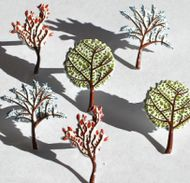Tree Brads (Coloured) by Eyelet Outlet