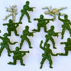 Army men brads by Eyelet Outlet