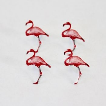 Flamingo Brads by Eyelet Outlet