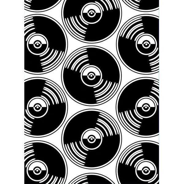 "Records Embossing Folder (4.25""x5.75"") by Darice"