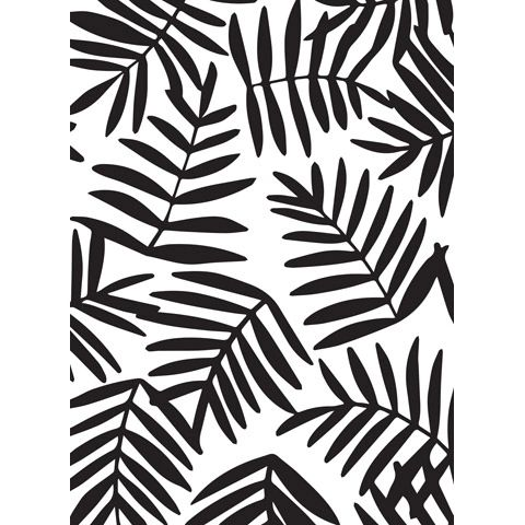 Ferns Background Embossing folder 4.25 x 5.75 by Darice