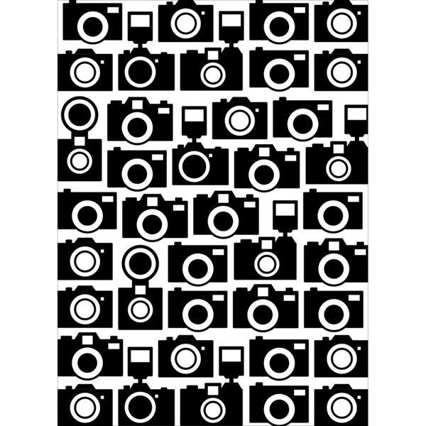 "Camera Background (4.25""x5.75"") embossing folder by Darice"