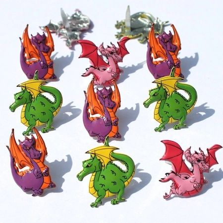Dragon brads by Eyelet Outlet