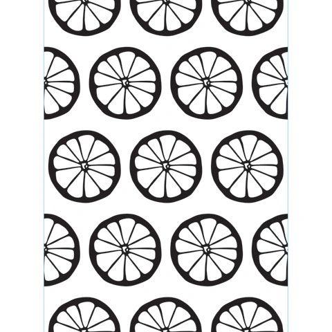 """Lemons Embossing Folder (4.24""""x5.75"""") by Darice"""