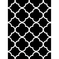 "Quaterfoil Embossing Folder (4.25""x5.75"") by Darice"
