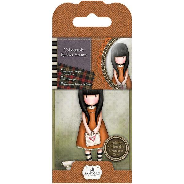 No. 9, I Gave You My Heart Gorjuss Mini Stamp by Santoro