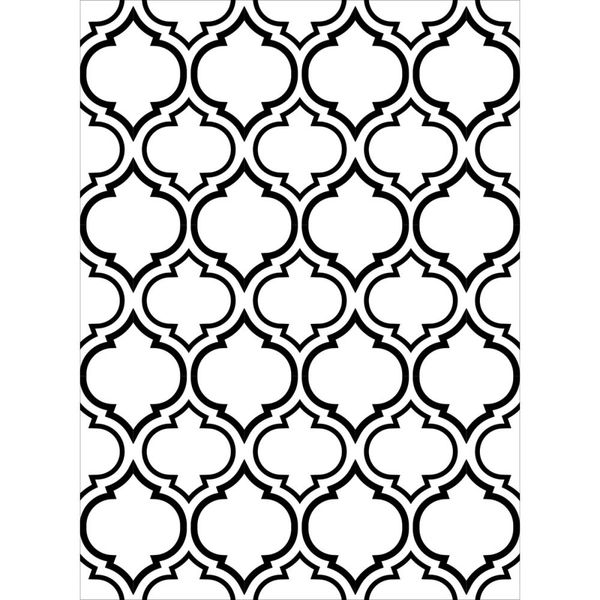 "Quaterfoil Double Embossing Folder (4.25""x5.75"") by Darice"