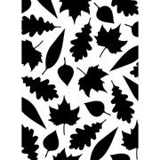 """Leaves Assorted Pattern Embossing Folder (4.25""""x5.75"""") by Darice"""