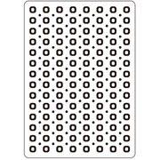 "Circle Embossing Folder (4.25""x5.75"") by Darice"
