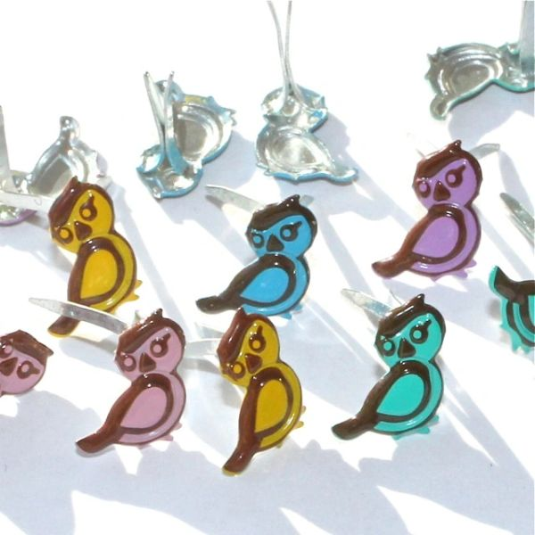 Mini Bird brads by Eyelet Outlet
