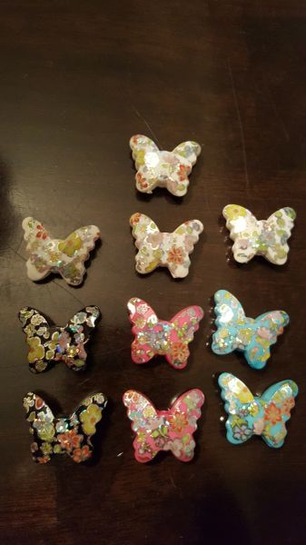 Butterfly Bead Assortment 15mm (10pcs)