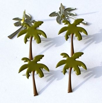 Palm Tree Brads by Eyelet Outlet