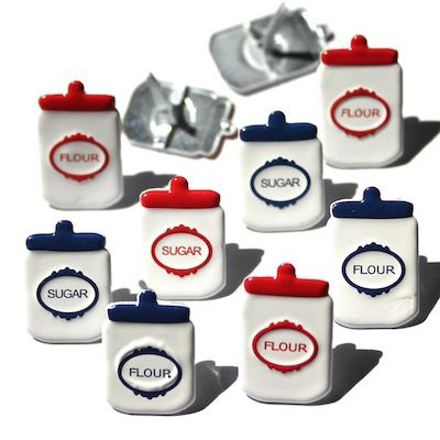 Canister Brads (12pcs) by Eyelet Outlet