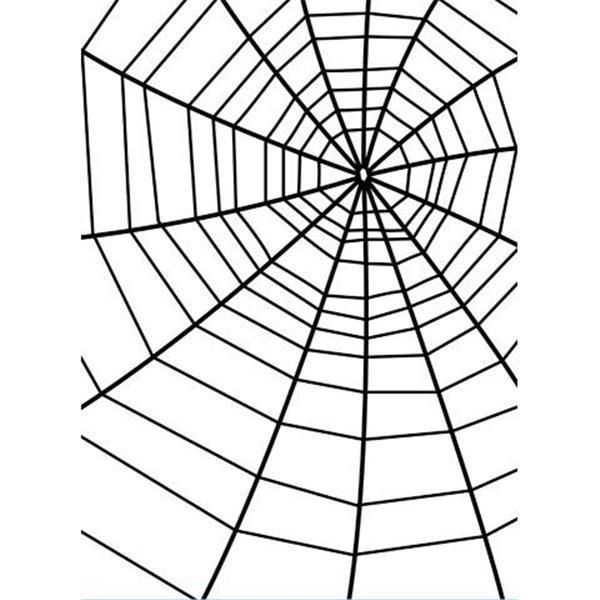 Spider Web Background - Darice Christmas Embossing Folder - 4.25 x 5.75 inches