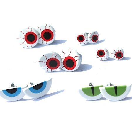 Spooky Eye (Scary eyes) brads by Eyelet Outlet