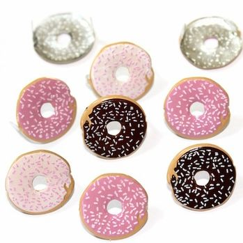 Donut (Doughnut) Brads by Eyelet Outlet