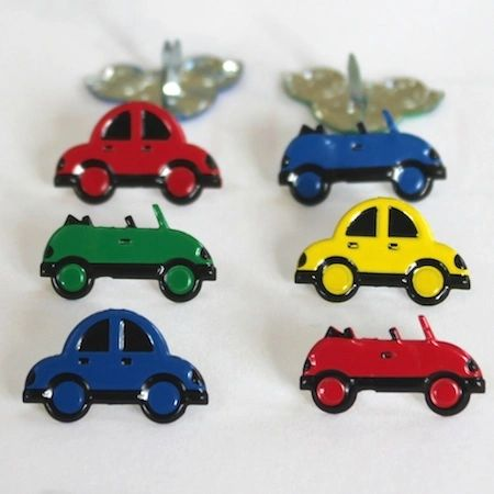 Coloured Car Brads by Eyelet Outlet