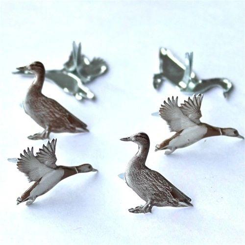 Mallard Duck Brads by Eyelet Outlet