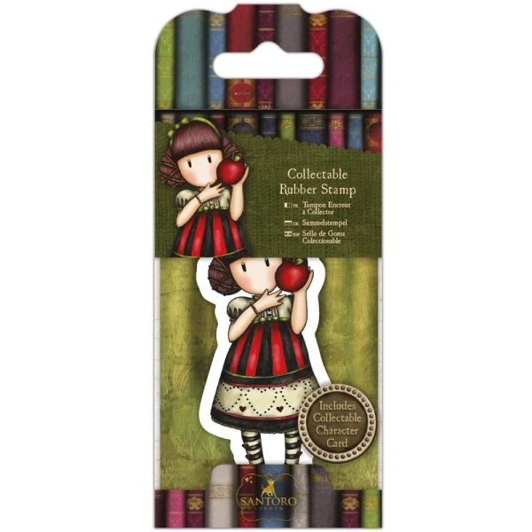 No. 37, Dear Apple Gorjuss Mini Stamp by Santoro