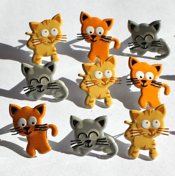 Kitten brads by Eyelet Outlet