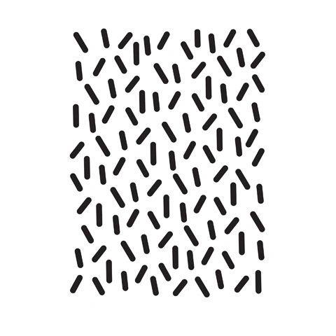 """Sprinkles Background Embossing Folder (4.24""""x5.75"""") by Darice"""